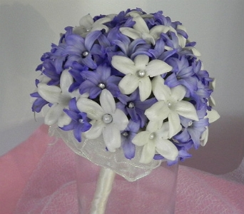 Stephanotis & Hyacinth Nosegay in Perry Hall MD, Perry Hall Florist Inc.