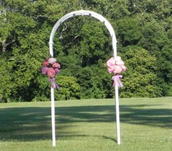 Garden Arch at Swan Harbor in Perry Hall MD, Perry Hall Florist Inc.