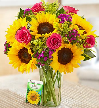 Sunflower Lover's Bouquet in Manhattan KS, Westloop Floral