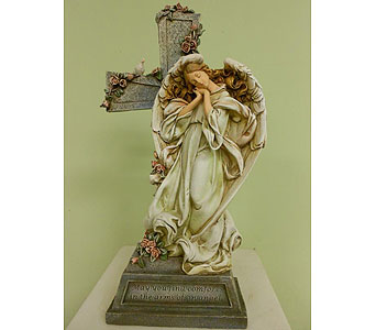 May you find comfort in arms of an angel$55 in Westerville OH, Reno's Floral