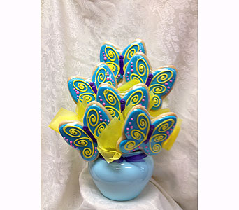 Butterfly Cookie Bouquet in Laurel MD, Rainbow Florist & Delectables, Inc.