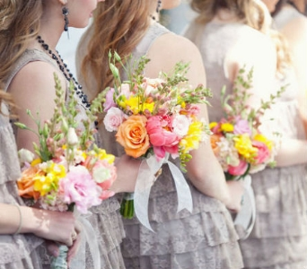 Natural Bridesmaids in Knoxville TN, The Flower Pot