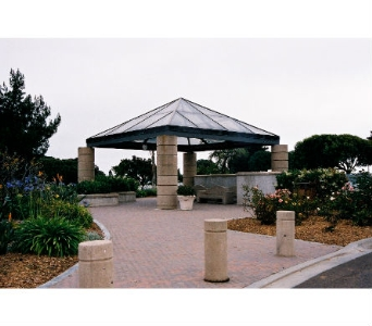 FORT ROSECRANS-Committal Shelter in San Diego CA, Flowers Of Point Loma
