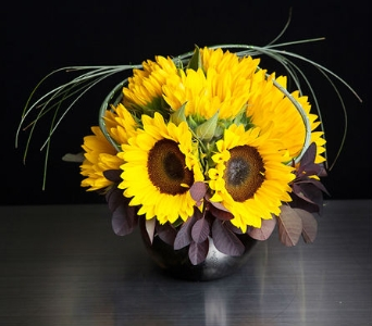 Sunflower Dream in La Jolla CA, Adelaide's Florists and Decorators