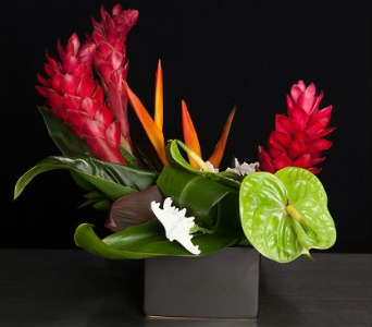 Hawaiian Summer in La Jolla CA, Adelaide's Florists and Decorators