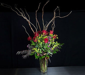 Red Roses for Him in La Jolla CA, Adelaide's Florists and Decorators