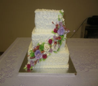 Wedding Cake 21 in Gautier MS, Flower Patch Florist & Gifts