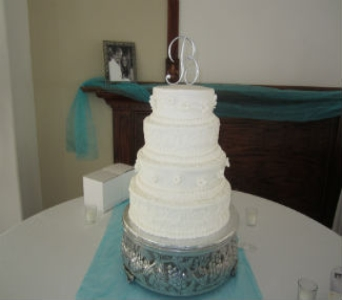 Wedding Cake 23 in Gautier MS, Flower Patch Florist & Gifts