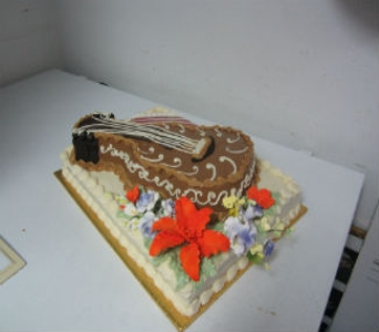 Birthday Cake 28 in Gautier MS, Flower Patch Florist & Gifts