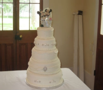 Wedding Cake 25 in Gautier MS, Flower Patch Florist & Gifts