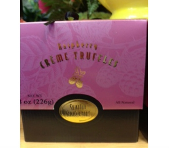 Seattle Chocolates (Rasp Creme) in Sitka AK, Bev's Flowers & Gifts