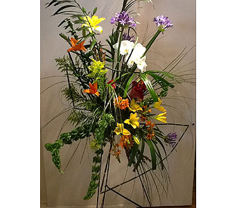 Village Greenery Signiture Arrangement in Houston TX, Village Greenery & Flowers