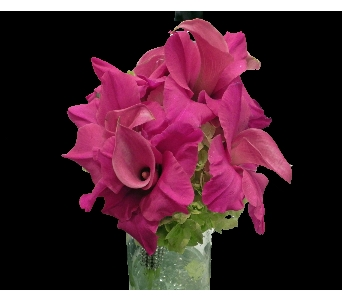 Calla Gladiola Clutch in Perry Hall MD, Perry Hall Florist Inc.