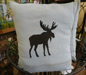 Milton's Moose Pillow in Saratoga Springs NY, Dehn's Flowers & Greenhouses, Inc