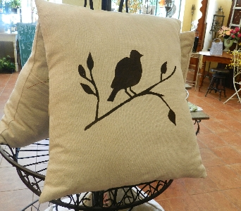 Milton's Bird Pillow in Saratoga Springs NY, Dehn's Flowers & Greenhouses, Inc