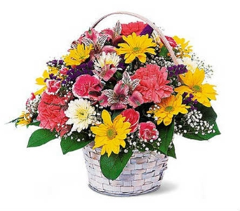Country Charm Basket in Warren MI, Downing's Flowers & Gifts Inc.