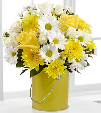 Color Your Day With Sunshine in Manhattan KS, Westloop Floral