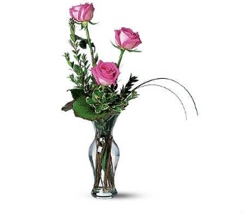 Premium Rose Trio in Warren MI, Downing's Flowers & Gifts Inc.
