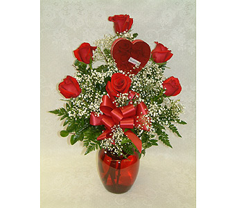 Roses & Chocolate in Lansing MI, Jon Anthony Florist