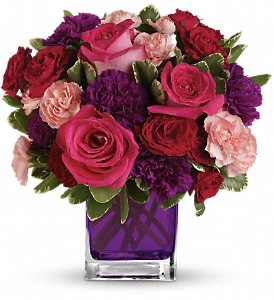 Bejeweled Beauty by Teleflora in West Los Angeles CA, Sharon Flower Design