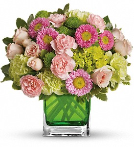 Make Her Day by Teleflora in Redwood City CA, A Bed of Flowers