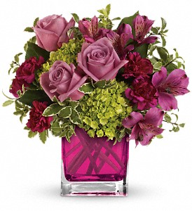 Splendid Surprise by Teleflora in Dublin OH, Red Blossom Flowers & Gifts