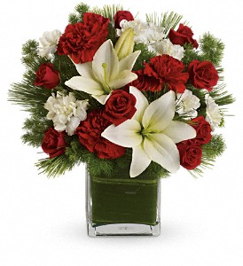Teleflora's Enchanted Winter Bouquet in Calgary AB, All Flowers and Gifts