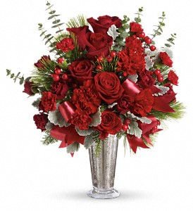 Teleflora's Holiday Touches Bouquet in Tyler TX, Country Florist & Gifts
