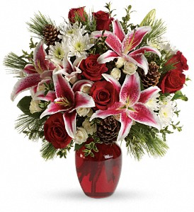 Winter Treasures Bouquet in Bakersfield CA, White Oaks Florist