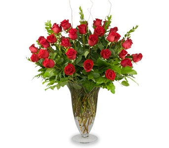 Grand Amour, Four Dozen Rose Bouquet in Las Vegas NV, Tiger Lily Floral