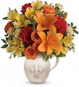 Teleflora's Summer Cottage in Gretna LA, Le Grand The Florist
