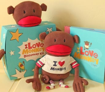 I Love Monkey Discovery Kit in Oshkosh WI, House of Flowers