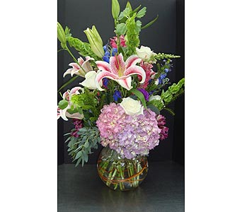 Bubble Bowl Arrangement in Houston TX, Athas Florist