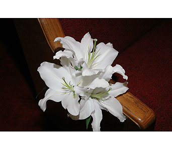 Wedding - Pew Marker in Houston TX, Athas Florist