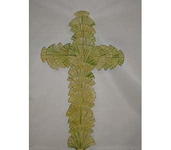 Palm Crosses 48 in Darien CT, Springdale Florist & Garden Center