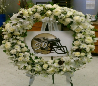 Custom Wreath in Redlands CA, Hockridge Florist