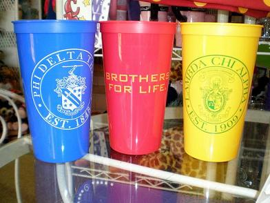 GENERAL- FRATERNITY TUMBLERS in San Marcos TX, Flowerland