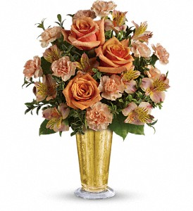 Teleflora's Southern Belle Bouquet in Rochester NY, Red Rose Florist & Gift Shop