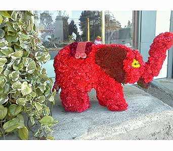 Elephant Centerpiece in Fremont CA, Kathy's Floral Design