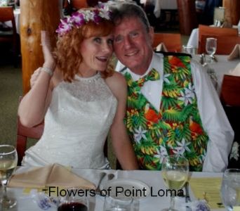 Birda & Gary in San Diego CA, Flowers Of Point Loma