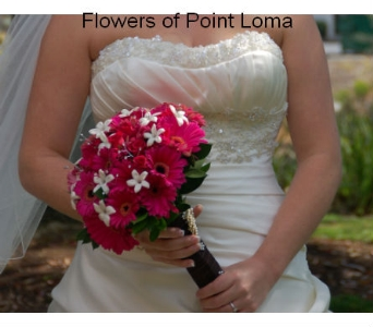 Brittany in San Diego CA, Flowers Of Point Loma