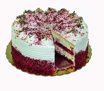 Red Velvet Cheesecake Cake in Baltimore MD, Raimondi's Flowers & Fruit Baskets
