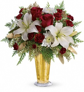 Golden Gifts by Teleflora in San Angelo TX, Bouquets Unique Florist