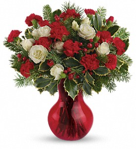 Teleflora's Gather Round Bouquet in East Providence RI, Carousel of Flowers & Gifts