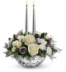 Teleflora's Splendid New Year Centerpiece in El Cajon CA, Jasmine Creek Florist