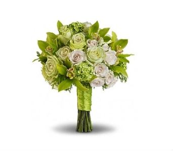 Gorgeous Green Bouquet in Charleston SC, Tiger Lily Florist Inc.