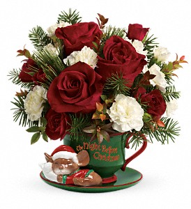 Teleflora's Send a Hug Waiting For Santa in Warren MI, J.J.'s Florist - Warren Florist