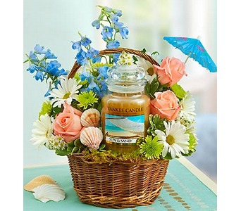 Yankee Candle� Sun and Sand� Basket  in Concord CA, Jory's Flowers