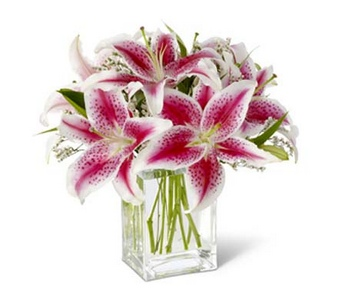 Pink Lily Bouquet in Concord CA, Jory's Flowers