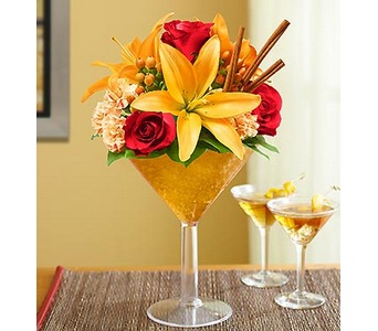 Martini Bouquet� Pumpkin Spice  in Concord CA, Jory's Flowers
